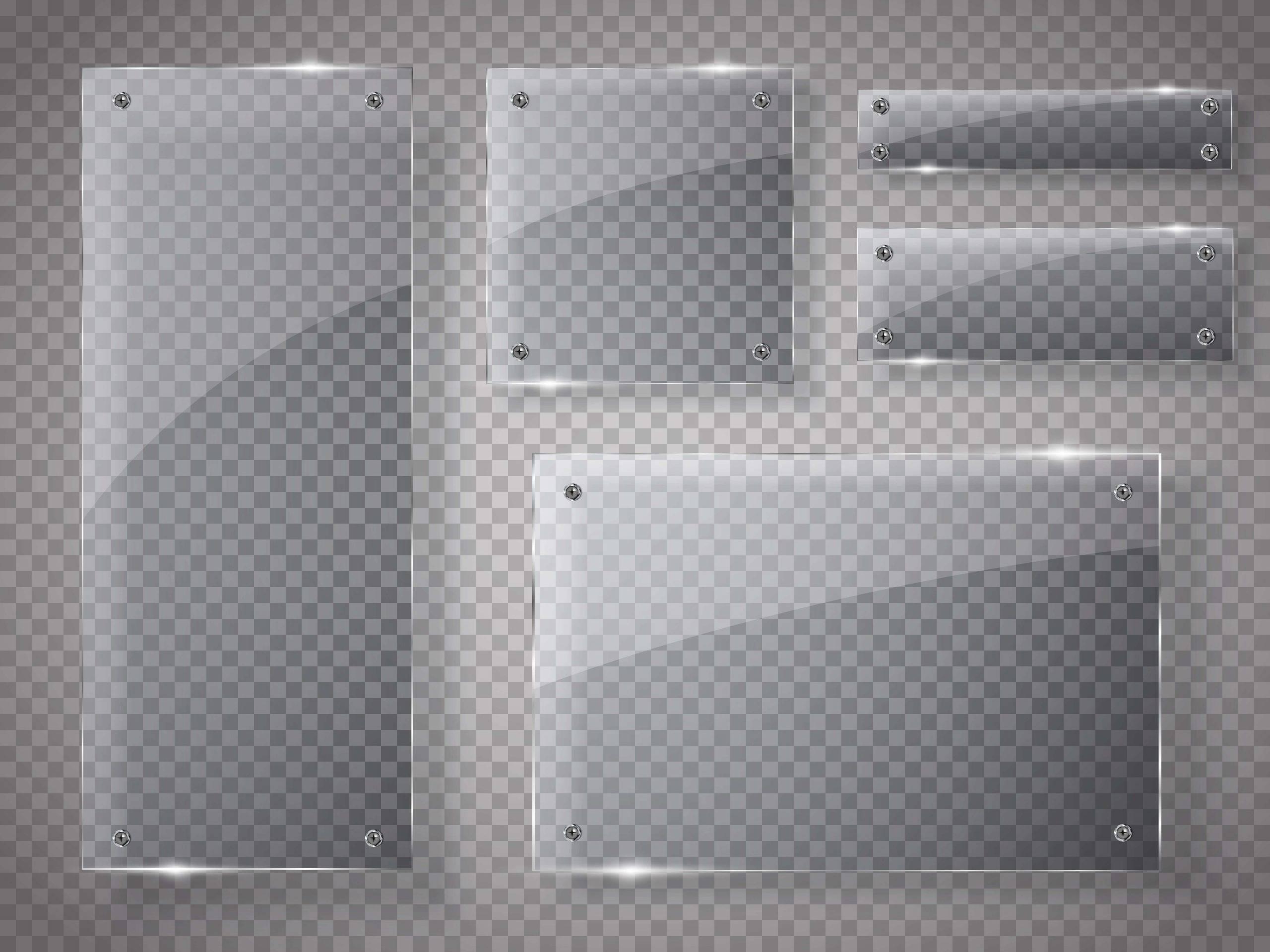 Customizações na lousa de vidro