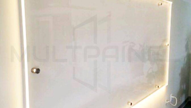 Lousa de Vidro com LED